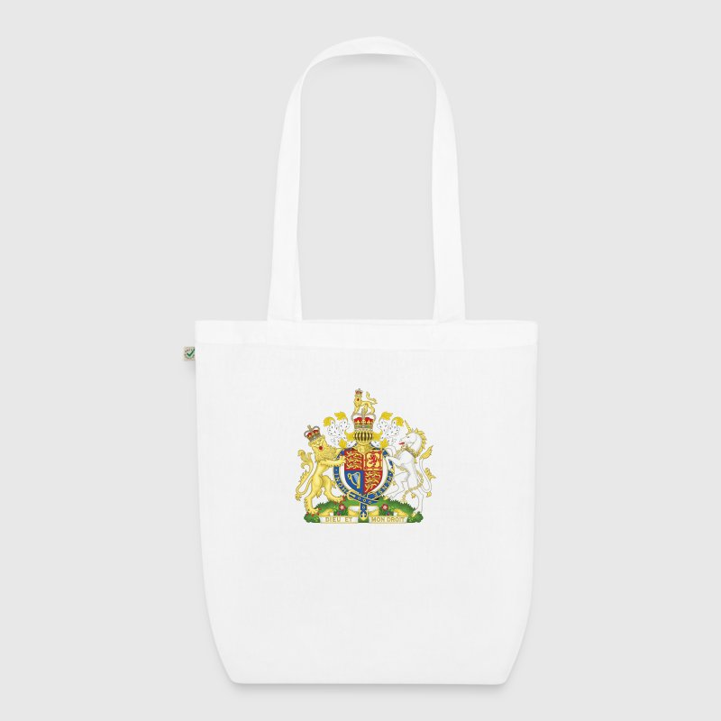 National Coat of Arms of the United Kingdom - EarthPositive Tote Bag
