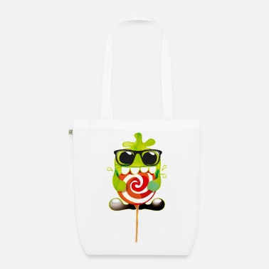 Lolling monster - EarthPositive Tote Bag