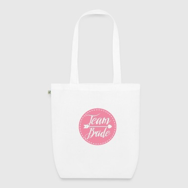 team_bride_lovely_pink - Borsa ecologica in tessuto