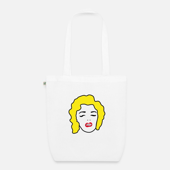Beautiful Bags & Backpacks - Pop Art - Organic Tote Bag white