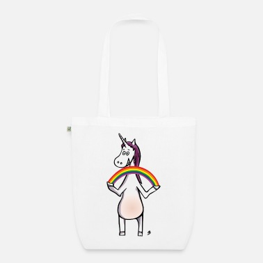 Magic Unicorn - Unicorn and Rainbow - Sac en tissu biologique