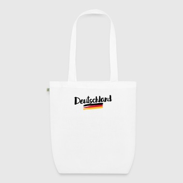 Germany flag – flag of Germany - EarthPositive Tote Bag