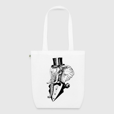 like a sir Elefant - Bio-Stoffbeutel