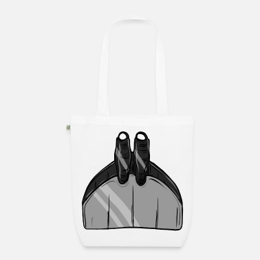 gray monofin freediving freediving freediving - Organic Tote Bag