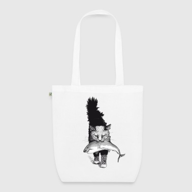Shark Cat - EarthPositive Tote Bag