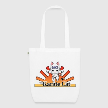 Karate Cat - Bio-Stoffbeutel