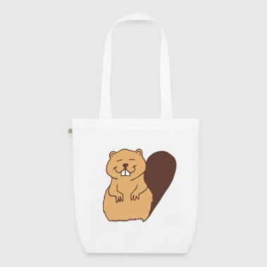 beaver - EarthPositive Tote Bag