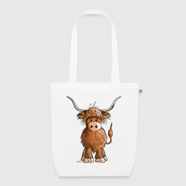 Scottish Scottish Highland Cattle - EarthPositive Tote Bag