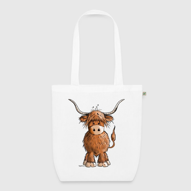 Scottish Highland Cattle - EarthPositive Tote Bag