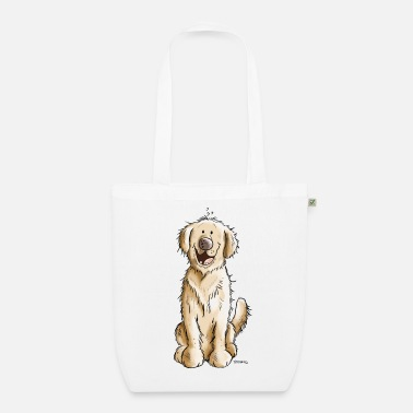 Golden Retriever Golden Retriever Golden - Borsa ecologica in tessuto