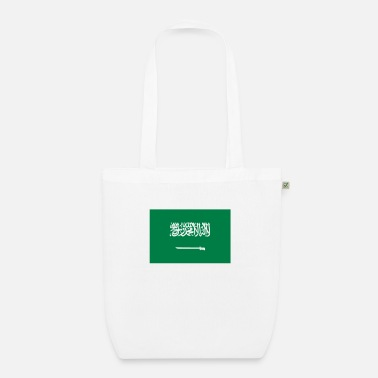 Saudi Arabia National flag of Saudi Arabia - EarthPositive Tote Bag