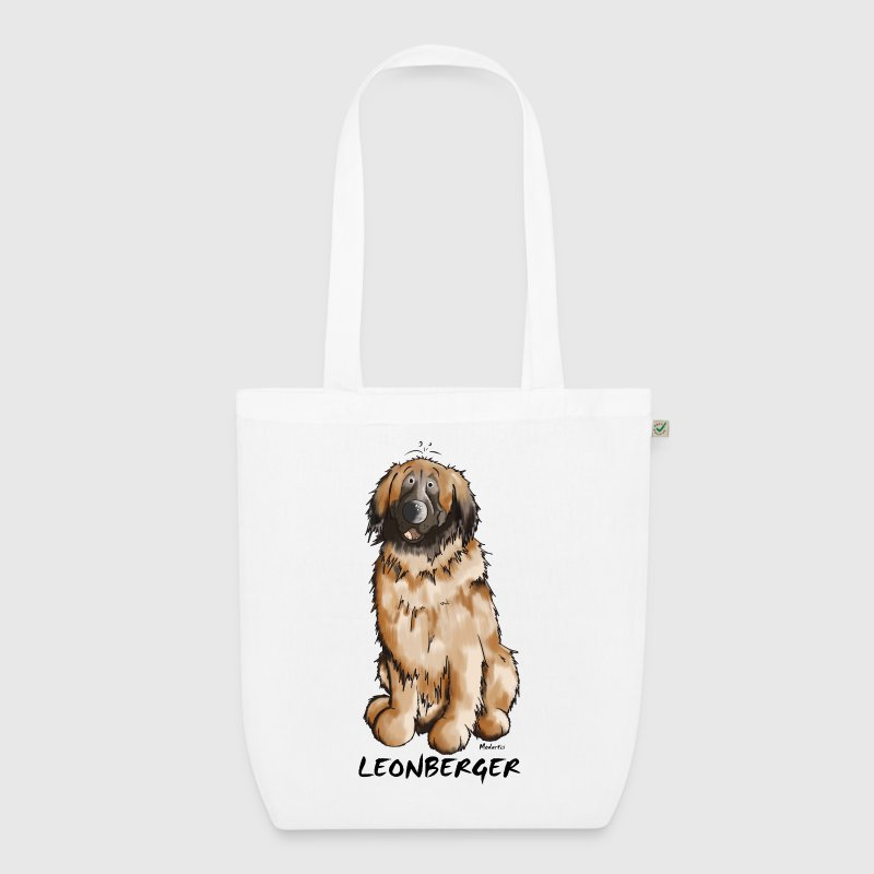 Leon the Leonberger - EarthPositive Tote Bag