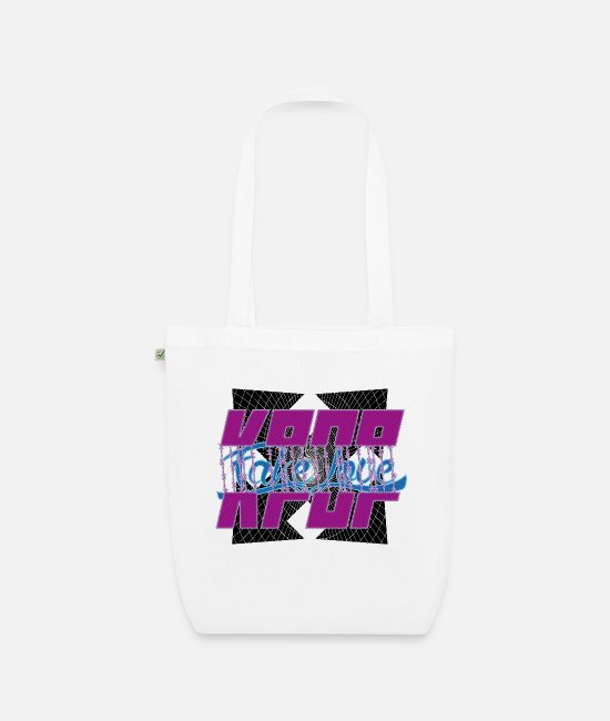 Army Bags & Backpacks - kpop fakelove - Organic Tote Bag white