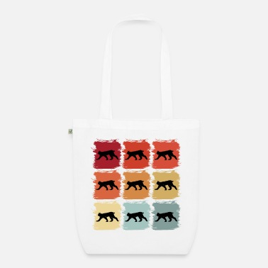 Pulito Retro idea regalo pop art lince animale selvatico animale - Borsa di stoffa ecologica