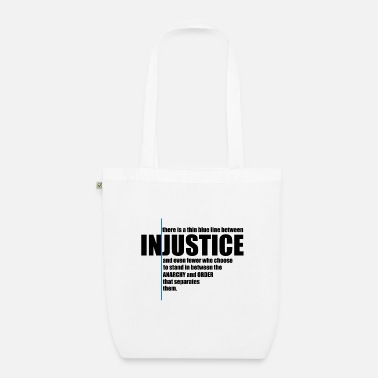 Injustice INJUSTICE! GIFT IDEA - Organic Tote Bag