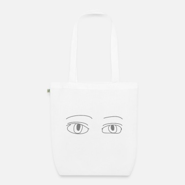 Goggley Eyes eyes - Organic Tote Bag