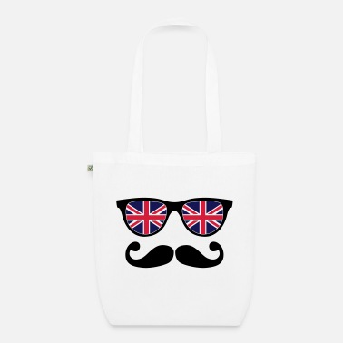 Like A Sir english mustache glasses nerd - like a sir - Sac en tissu bio