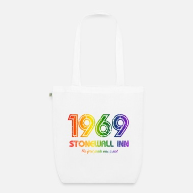Stonewall 1969 Stonewall NYC LGBT Gay Pride CSD Queer - Økologisk mulepose