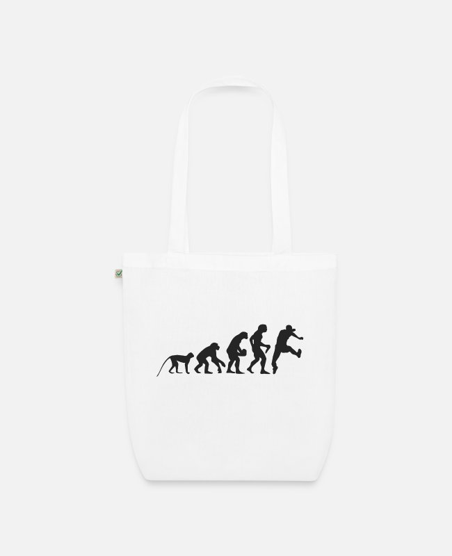 Competition Bags & Backpacks - Evolution running - Organic Tote Bag white