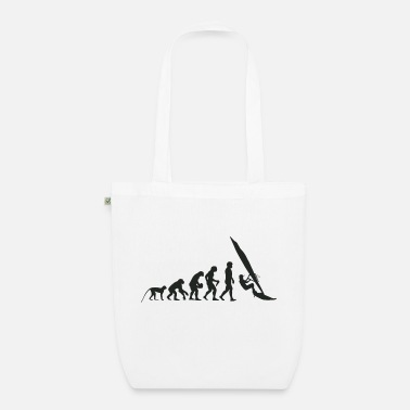 Rough Evolution Windsurfing - Organic Tote Bag