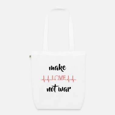 Love Was Not make love was not - Organic Tote Bag