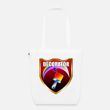 Award Painter Decorator Shield - Organic Tote Bag