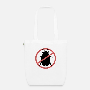 Travel Bug No Bed Bugs | Bed bugs banned bed bug travel - Organic Tote Bag