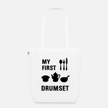 Drum Set My first drum set - Organic Tote Bag