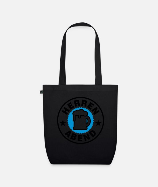 Männer Bags & Backpacks - Herren Abend | Stempel - Organic Tote Bag black