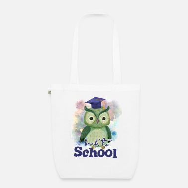 Back To School Back To School Owl - Organic Tote Bag