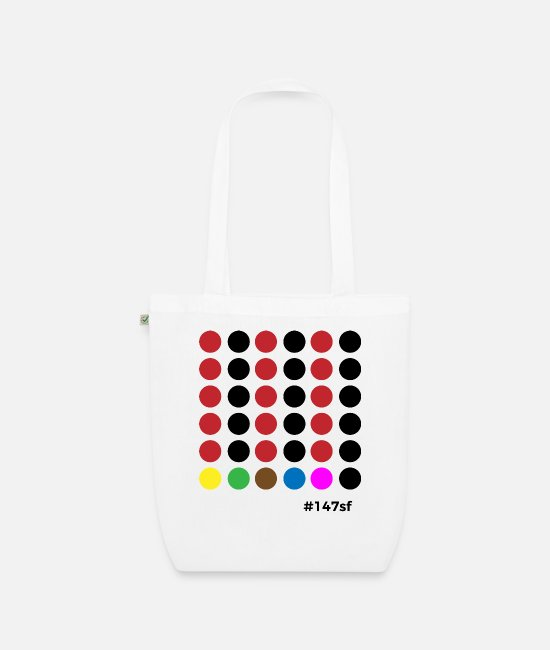 Cue Bags & Backpacks - Snooker # 147sf - Organic Tote Bag white