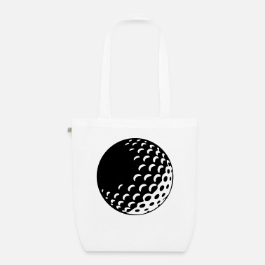 Golf Ball Golf - Golf Ball - Organic Tote Bag