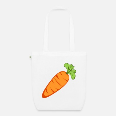 Icon Carrot icon - Organic Tote Bag
