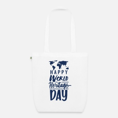 Weltkulturerbetag World Heritage World Heritage Day World Heritage Day Holiday - Organic Tote Bag