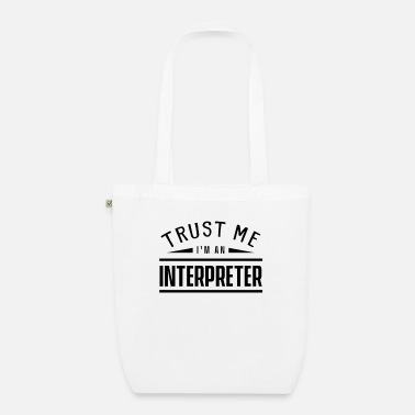 Proud Mom interpreter - Organic Tote Bag