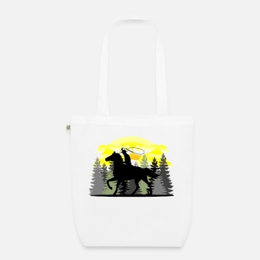 Western Riding Western riding - Organic Tote Bag