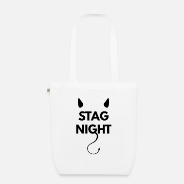 Wedding Party Bachelor party on stag night - Organic Tote Bag