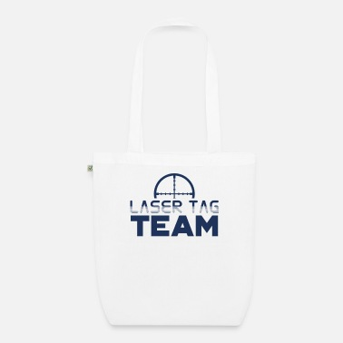 Tag Team laser tag laser tag player gift - Organic Tote Bag