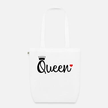 King De TelaSpreadshirt Bolsas Pedir Queen En Línea f7Yby6g