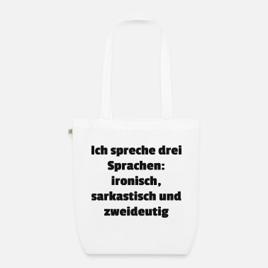 Language languages - Organic Tote Bag