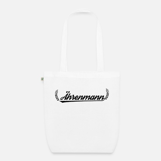 Gift Idea Bags & Backpacks - ears man - Organic Tote Bag white
