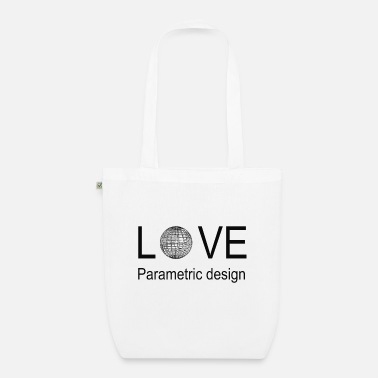Parametric love parametric design - Organic Tote Bag