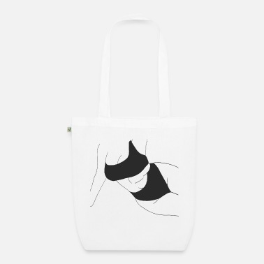 Silhouette Underwear Body positivity - Organic Tote Bag