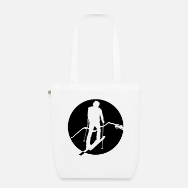 Deep Snow skitour4 - Organic Tote Bag