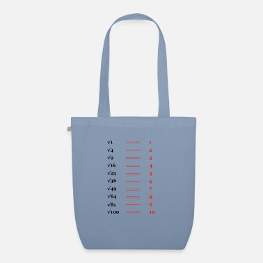 Pulling Roots Square root, root of ... - Organic Tote Bag