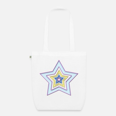 Star Star in star - Organic Tote Bag