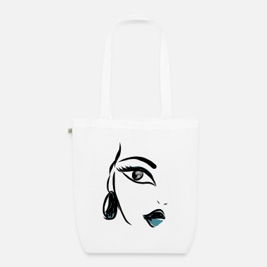 Illustrate illustration - Organic Tote Bag
