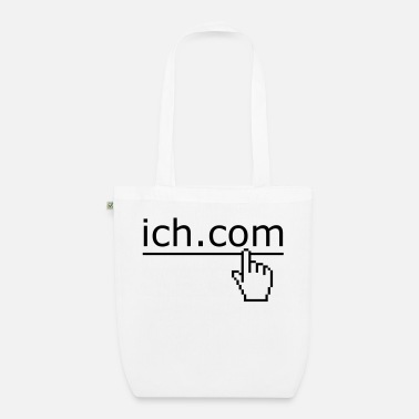 Motto ich dot com - Organic Tote Bag