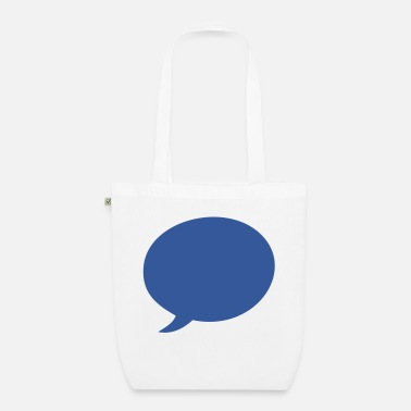 Speech Balloon Speech balloon - Organic Tote Bag