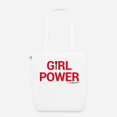 SmileyWorld Girl Power - Bolsa de tela orgánica